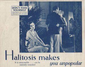 20年代のリステリン広告