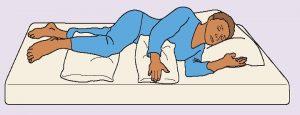 妊婦の方におすすめのシムズの体位