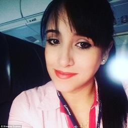コロンビアの飛行機事故の乗務員 奇跡の生還 Ximena Suarez