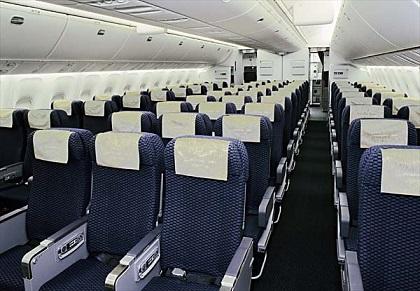 飛行機の座席