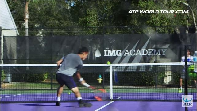 テニス選手のオフトレーニング 錦織圭選手の場合 ボレー練習