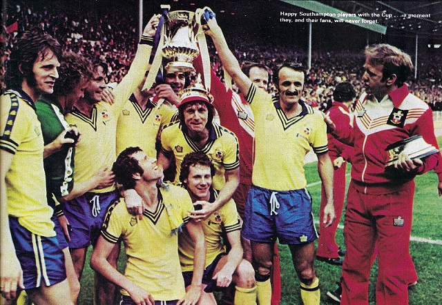 fa cup 1976 southampton with cup