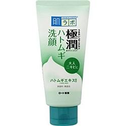 ロート製薬 肌ラボ 極潤 ハトムギ洗顔フォーム