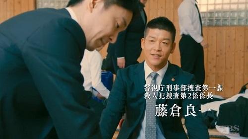 日曜劇場「小さな巨人」 剣道場の藤倉良一(駿河太郎)