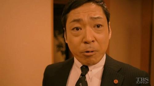 日曜劇場「小さな巨人」 料亭の小野田義信(香川照之)01