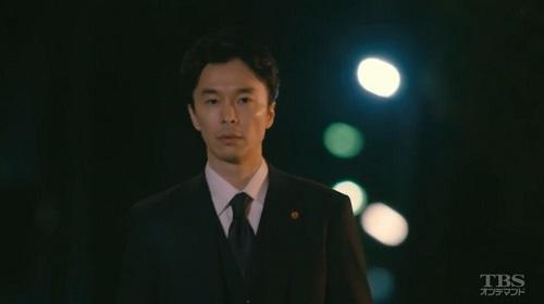 日曜劇場「小さな巨人」 見送るとディンプルが出来る香坂真一郎(長谷川博己)04