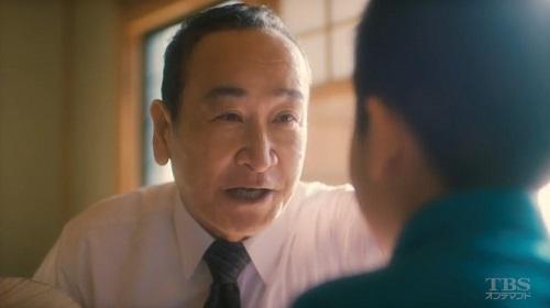 日曜劇場「小さな巨人」 香坂敦史(木場勝己)
