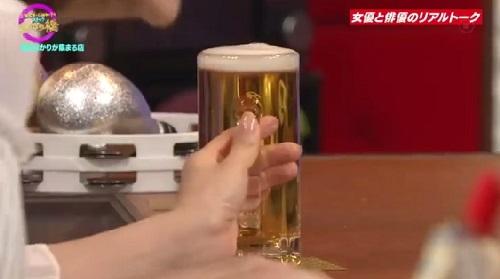 4月12日 天海祐希・石田ゆり子のスナックあけぼの橋 今度は泡が少ない