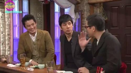 4月12日 天海祐希・石田ゆり子のスナックあけぼの橋 手を挙げる田中哲司