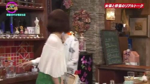 4月12日 天海祐希・石田ゆり子のスナックあけぼの橋 気づく石田ゆり子