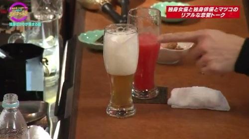 9月29日 天海祐希・石田ゆり子のスナックあけぼの橋 泡だらけのビール