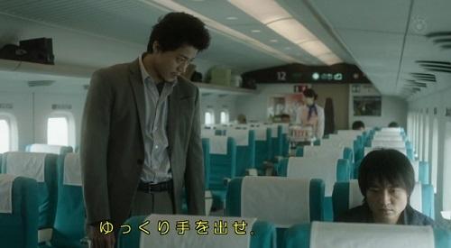 CRISIS クライシス 公安機動捜査隊特捜班 問い詰める稲見朗(小栗旬)