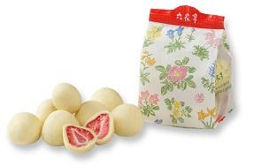 六花亭 ストロベリーチョコホワイト袋入(80g)