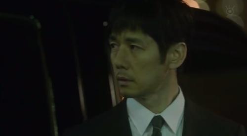 フジテレビ 第6話 「CRISIS クライシス 公安機動捜査隊特捜班」 田丸三郎(西島秀俊)は11年前のテロについて公安内で流れた噂を話す