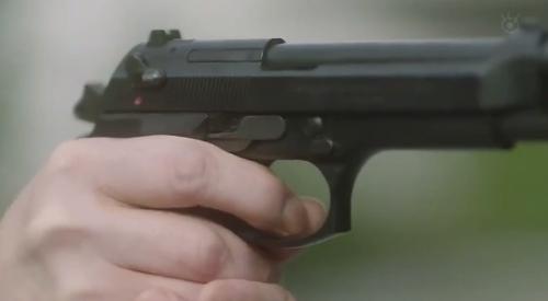 フジテレビ 第6話 「CRISIS クライシス 公安機動捜査隊特捜班」 里見修一が引き金に指をかける