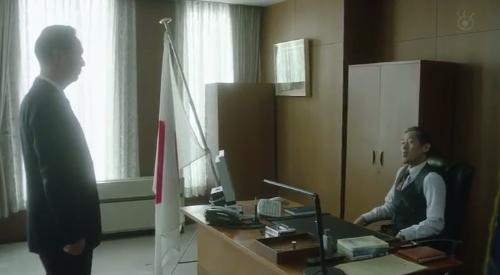 フジテレビ 第6話 「CRISIS クライシス 公安機動捜査隊特捜班」 乾警視総監は鍛治大輝(長塚京三)の特捜班に目をかけているようだ