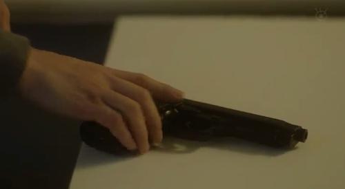 フジテレビ 第6話 「CRISIS クライシス 公安機動捜査隊特捜班」 銃を所持している里見修一