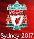 親善試合(フレンドリーマッチ) シドニーFC vs リバプールFC戦 告知ロゴ