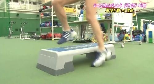 5月14日 TBS「バース・デイ」テニス界のレジェンド伊達公子46歳 現役を続ける理由 半年以上リハビリとトレーニングを積み重ねた02