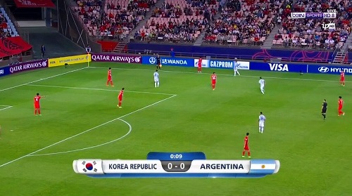 FIFA U-20 ワールドカップ 韓国大会 2017 グループA 韓国 vs アルゼンチン戦 (2)