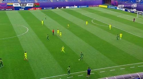 FIFA U-20 ワールドカップ 韓国大会 2017 グループB ベネズエラ vs バヌアツ戦 (5)
