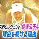 TBS「バース・デイ」伊達公子の戦いの記録 テニス界のレジェンド 伊達公子46歳 現役を続ける理由