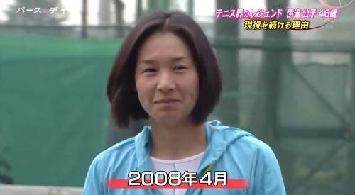 TBS「バース・デイ」伊達公子の戦いの記録 2008年4月に現役復帰発表