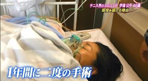 TBS「バース・デイ」伊達公子の戦いの記録 1年に2度の手術