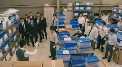 TBS 日曜劇場 「小さな巨人」 第6話 芝署編完結 指示を出す香坂真一郎(長谷川博己)