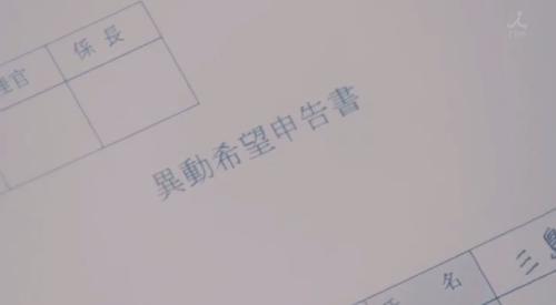 TBS 日曜劇場 「小さな巨人」 第6話 芝署編完結 異動希望を出す三島祐里(芳根京子)