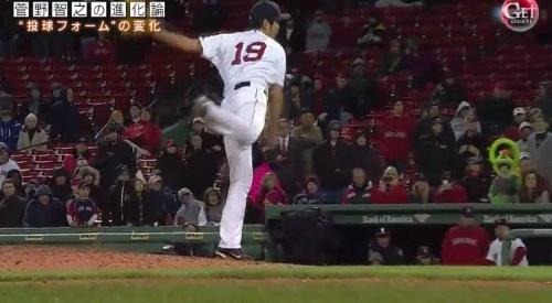 テレビ朝日「Get Sports(ゲットスポーツ)」 6月4日放送 巨人・菅野智之の進化 上原浩治の右足は大きく左足を追い越している