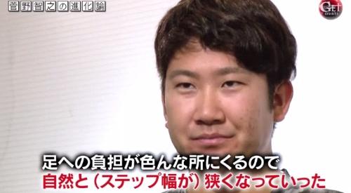 テレビ朝日「Get Sports(ゲットスポーツ)」 6月4日放送 巨人・菅野智之の進化 体の負担軽減のため自然とステップ幅が狭くなった