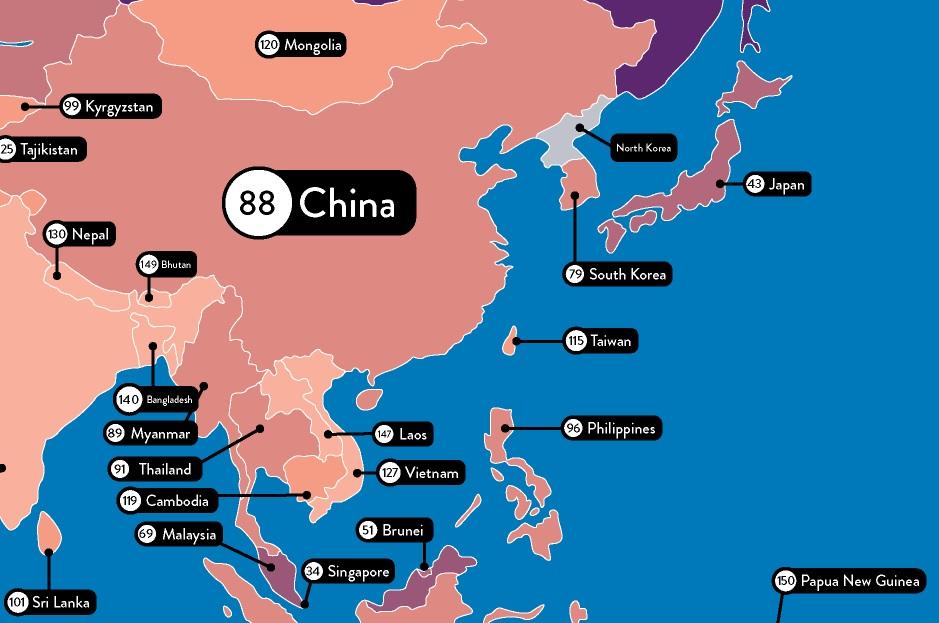 大人のおもちゃ(アダルトグッズ)に興味がある国はどこなのか?アジア地区 日本は何位?