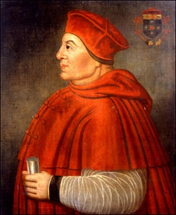 ストロベリーアンドクリームの元祖 トマス・ウルジー枢機卿
