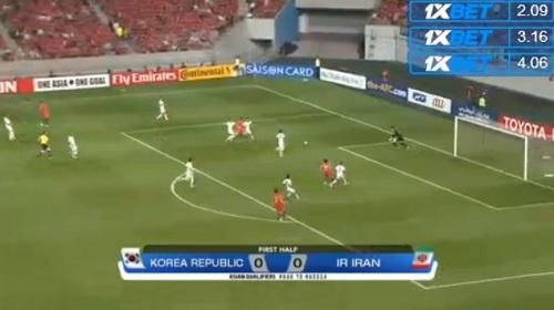 サッカーW杯アジア最終予選 韓国 vs イラン戦 見逃し配信の視聴方法04