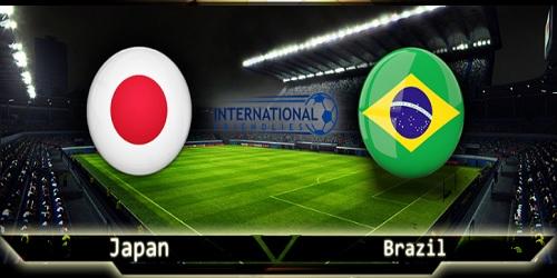 2017年11月10日 サッカー日本代表 国際強化試合 日本 vs ブラジル
