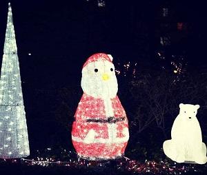 大崎ゲートシティ クリスマスイルミネーション