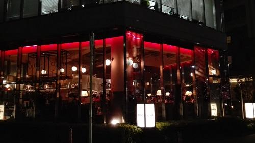 目黒川みんなのイルミネーション2017 五反田ふれあい水辺広場 びすとろUOKIN 五反田店
