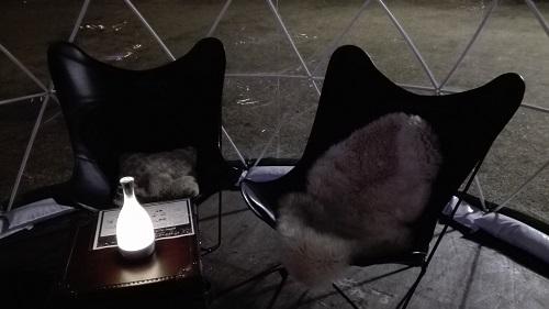 目黒川みんなのイルミネーション2017 五反田ふれあい水辺広場 ガーデンイグルー ペアシート
