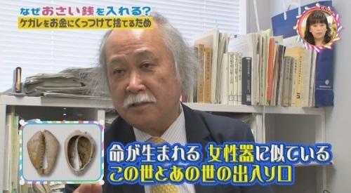 NHK 第3弾「チコちゃんに叱られる!」2017年12月27日 女性器はこの世とあの世の出入り口
