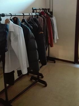 呉市スポーツ会館 更衣室のハンガー