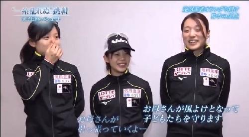 NHK 日本女子団体パシュート 菊池彩花は先頭では風よけに