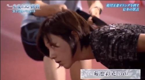 NHK 日本女子団体パシュート 菊池彩花は長身の170cm