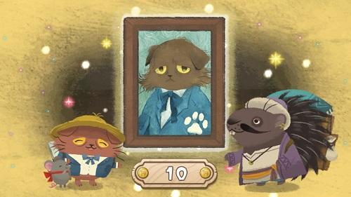 猫のニャッホ LINEポイントゲットのための攻略まとめ ステージ8クリアで2枚目の絵が完成