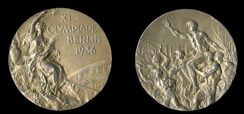 1936年ベルリンオリンピックの金メダル