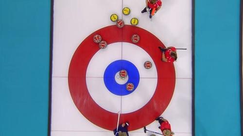 2014年ソチオリンピック、イギリス vs アメリカ イギリスチームのセブン・エンダー