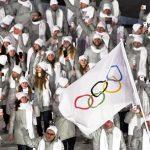 2018年 平昌オリンピック 開会式 入場行進 OAR