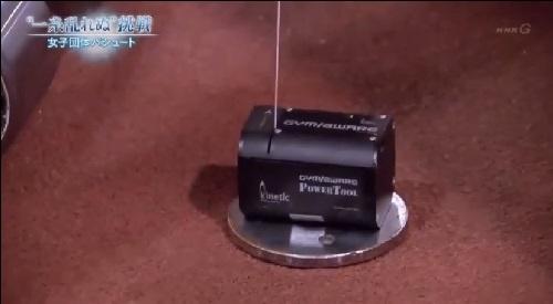 NHK 日本女子団体パシュート ウェイトトレーニングで使用していたGymAware