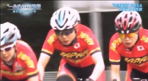 NHK 日本女子団体パシュート 自転車トレーニング中も隊列を意識