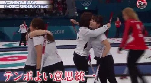 カーリング女子の銅メダル獲得の裏側 「Get Sports」 LS北見 テンポよい意思統一